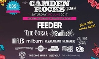 Camden Rocks Festival 2017, 3 June at The Worlds End (Up to 12% Off)