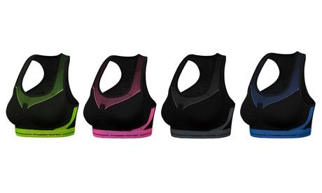 Fino a 8 reggiseni sportivi disponibili in varie taglie e colori