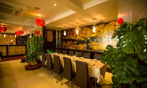 Parkside Restaurant: Two-Course Chinese Meal with Drink for Two or Four at Parkside Restaurant
