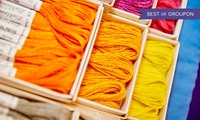 Stitching, Sewing & Hobbycrafts: One Day Ticket, 2–4 February at EventCity (Up to 38% Off)