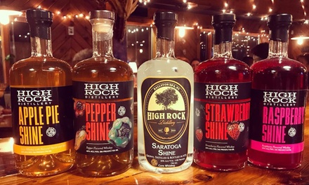 High Rock Distillery Ballston Spa Ny