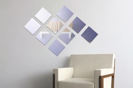 Specchi quadrati adesivi groupon - Specchi adesivi per pareti ...