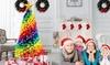 Rainbow Coloured Christmas Tree