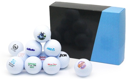 Personalised Golf Balls: 12 ($24.95) or 24 ($44.95)