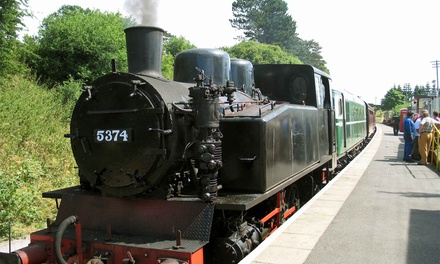 Steam Railway Tickets for Up to Five Adults or Children with Northampton & Lamport Railway