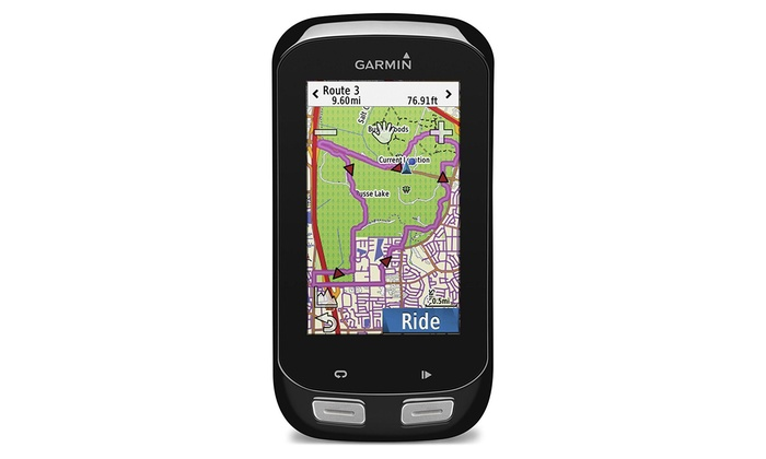 Garmin Edge 1000 Cycling Computer with Speed/Cadence Sensors and Heart Monitor
