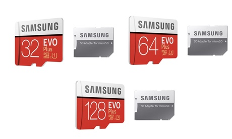One or Two Samsung Micro SD Cards with Adapters