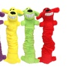 Multipet Loofa Bungee and Scrunchy Dog Toy (3-Pack)