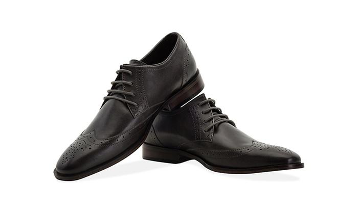 Pour Richelieu Shopping En Cuir Chaussures 5uxqd Homme Groupon tCqZdYZwR