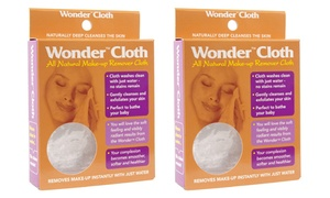 Wonder Cloth All-Natural Makeup Remover (1- or 2-Pack)