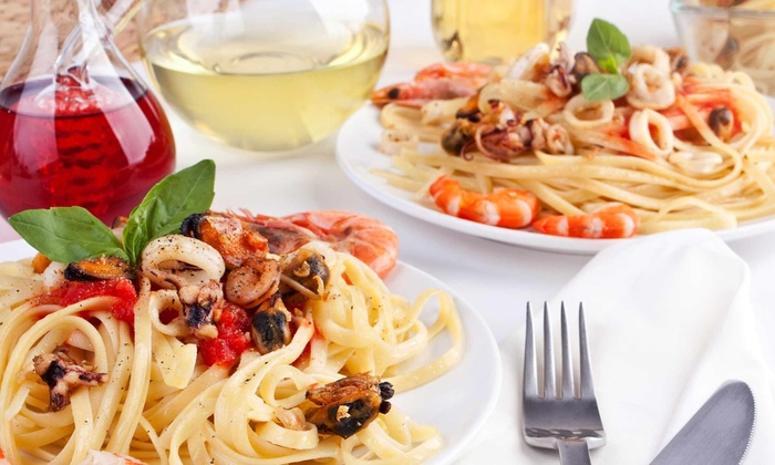 Groppelo's Restaurant - Port Washington: Upscale Italian Dinner for Two or Four with Wine at Groppelo's Restaurant (48% Off)