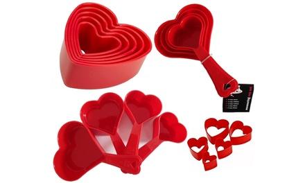 Tala Heart-Shaped Baking Set