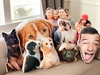 Up to 66% Off Personalized 3D Photo Throw Pillows