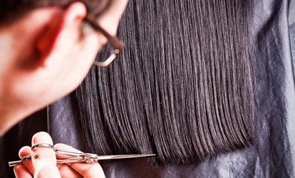 image for Cut, Blow-Dry and Condition with Optional Half Head Highlights at Lewis Moore Salons Streetly (Up to 57% Off)