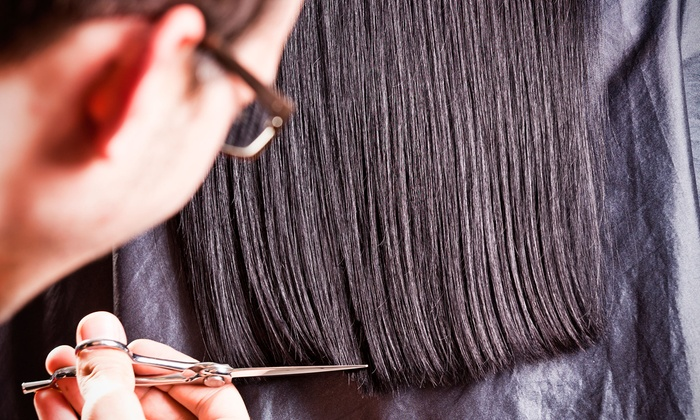 NOIR SALON - Peoria: Hairstyling Packages at NOIR SALON (Up to 54% Off). Two Options Available.