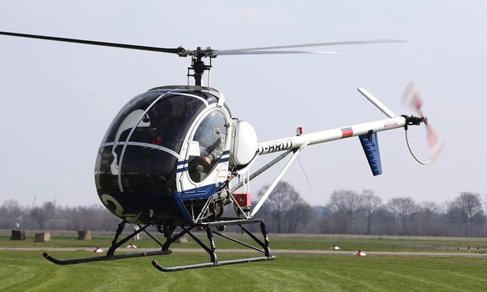 Aveo Flight Academy - Mehrere Standorte: 20 oder 30 Min. Helikopter-Rundflug für 1 Person bei Aveo Flight Academy (bis zu 32% sparen*)
