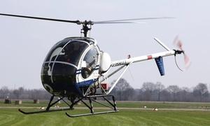 Aveo Flight Academy: 20 oder 30 Min. Helikopter-Rundflug für 1 Person bei Aveo Flight Academy (bis zu 32% sparen*)
