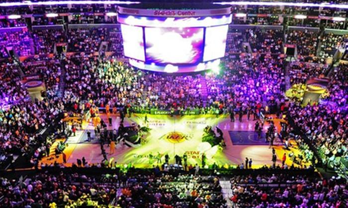 Los Angeles Lakers vs. Utah Jazz - Honda Center: Los Angeles Lakers vs. Utah Jazz NBA Preseason Game at Honda Center on Friday, October 25, at 7 p.m. (Up to Half Off)