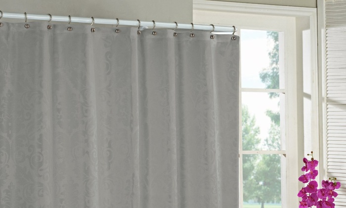 Duck River Motif Shower Curtain Groupon Goods