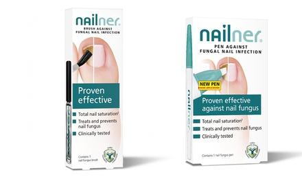 Nailner Fungal Nail Treatment Brush, Pen or Both