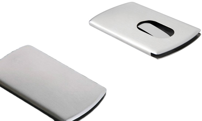 Stainless Steel Card Case