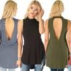 Lyss Loo Flirting with Danger Women's Ribbed Cutout Top