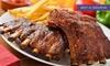 RockaRolla - Monterotondo: Uno o 2 kg di costine BBQ Heavy Metal più dolce e birra per 2 o 4 persone da RockaRolla (sconto fino a 53%)