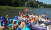 Up to 60% Off Tubing Excursion and Barbecue
