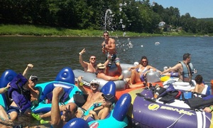 Boobs & Tubes: Tubing Excursion and Barbecue with Transport to and from Hoboken or Manhattan from Boobs & Tubes (Up to 61% Off)