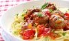 Italian Food Delivered - Multiple Locations: $66 for $120 Worth of Italian Food — Italian Food Delivered