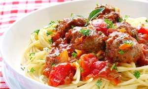 Italian Food Delivered: $66 for $120 Worth of Italian Food — Italian Food Delivered