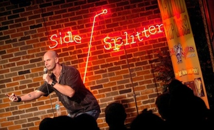 At Side Splitters Comedy Club, you might get dinner and a show as live music is often featured as well as a DJ. Side Splitters Comedy Club draws a crowd with performances from live DJs. For an eclectic twist on traditional dining, live music is often featured at Side Splitters Comedy Club as well.