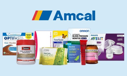 Amcal.com Free Shipping Don't pay $7.50 No Min Spend