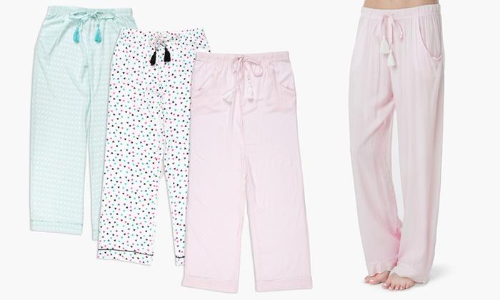 Olive Street Tassled Pajama Pants (3-Pack)