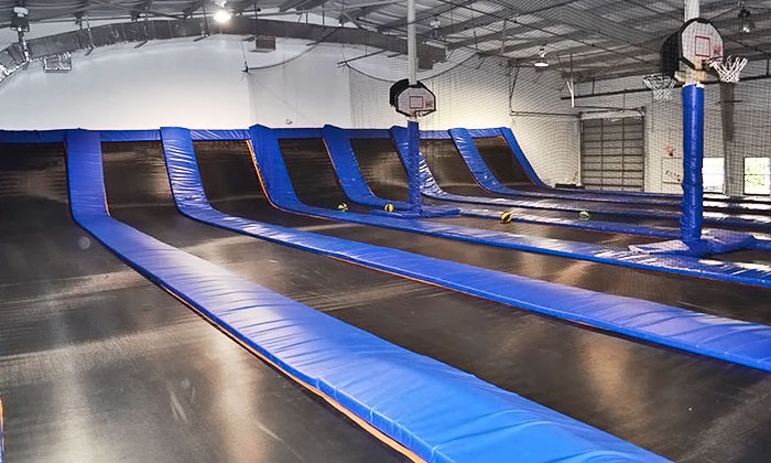 Trampoline High - South Kendall: Bouncing Sessions or a Party for Up to 10 at Trampoline High (Up to 50% Off). Five Options Available.