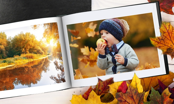 Up to Three A4 Personalised Leather Photobooks with 30 or 50 Pages from Printerpix
