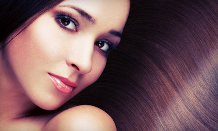 86 Hair Studio - Highland Park: Keratin Smoothing Treatment with Optional Haircut at 86 Hair Studio (Up to 60% Off)