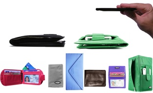 Big Skinny Ultra-Thin Wallets for Men and Women