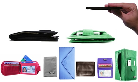 Ultra-Thin Wallets for Men and Women from Big Skinny (Up to 52% Off). Three Options Available.