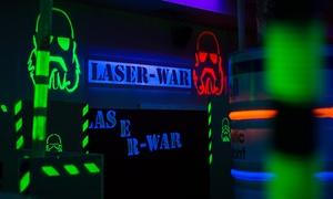 LASER-WAR: Laserowy paintball: rozgrywka dla 4 osób za 89 zł i więcej opcji w LASER-WAR w Legionowie