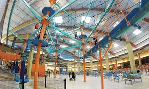 Indoor Ropes Course and Zip Line – Up to 30% Off at Pittsburgh Mills Sky Trail, plus 6.0% Cash Back from Ebates.
