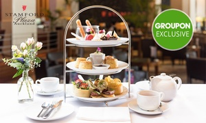 Knights On Albert Restaurant: High Tea for 2 ($49) up to 8 ($189) with Optional Sparkling Wine ($255) at Knights On Albert Restaurant (Up to $448 )