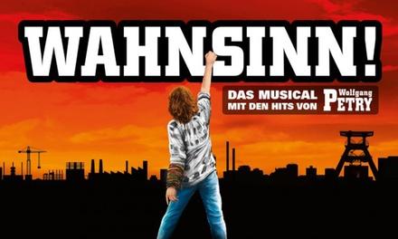 Wahnsinn! Das Musical mit den Hits von Wolfgang Petry im April im Theater am Marientor in Duisburg (bis zu 43% sparen)