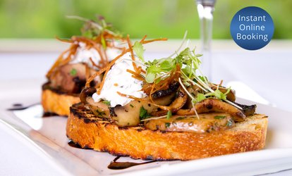Tapas Tasting Menu + Wine for Two ($62), Four ($124) or Six People ($186) at The Verandah Restaurant (Up to $438 Value)