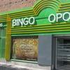 Cena en sala de bingo