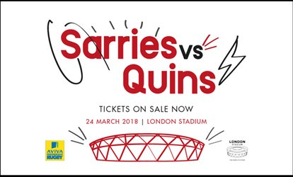 image for Saracens vs Harlequins, One Adult, Junior of Family of Four Ticket (Up to 29% Off*)