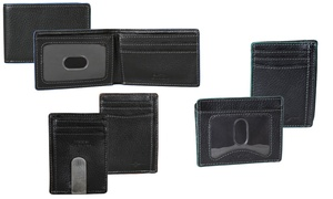 Men's Front Pocket Wallets with RFID Protection
