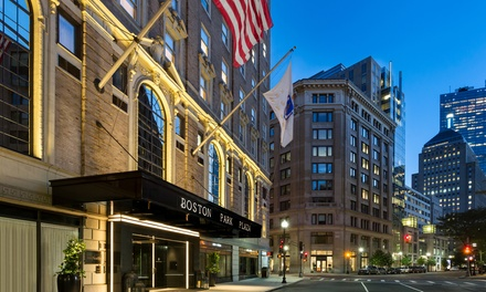Stay at Boston Park Plaza Hotel, MA, with Dates into December