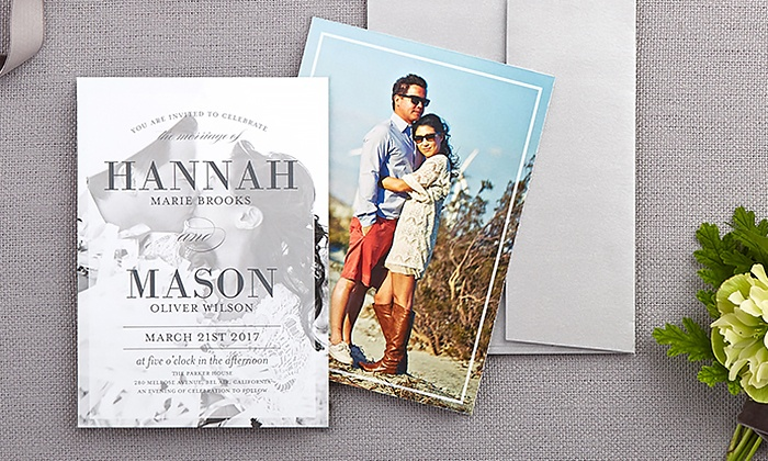 ... Shutterfly: Wedding Invitations From Shutterfly (Up To 52% Off)