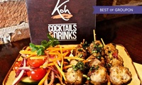 Two-Course Thai Lunch for Two or Four at Koh Thai Tapas Boscombe (Up to 52% Off)